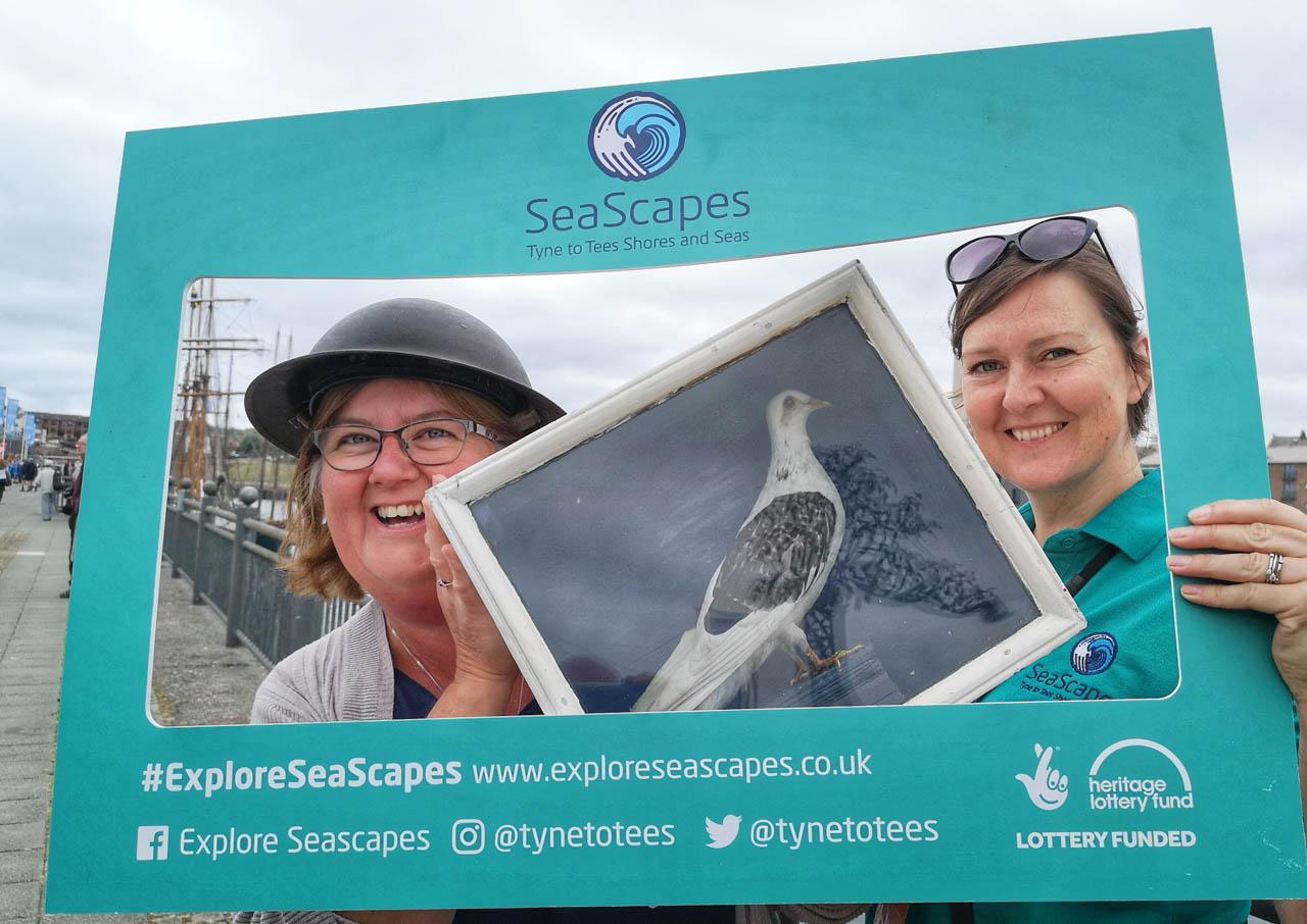 seascapes selfies