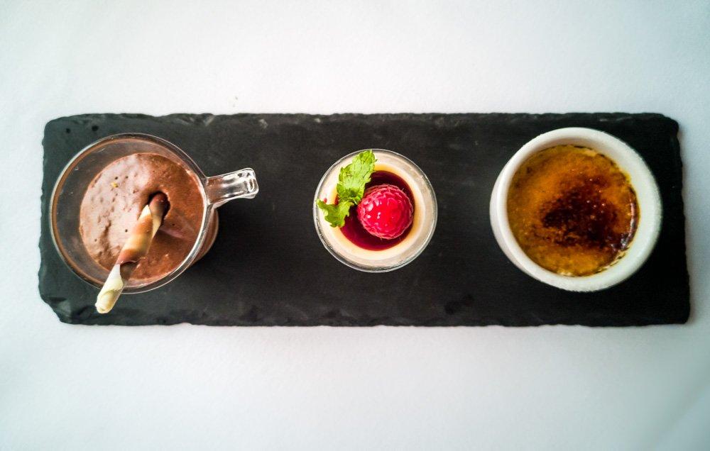 sweet shots for dessert