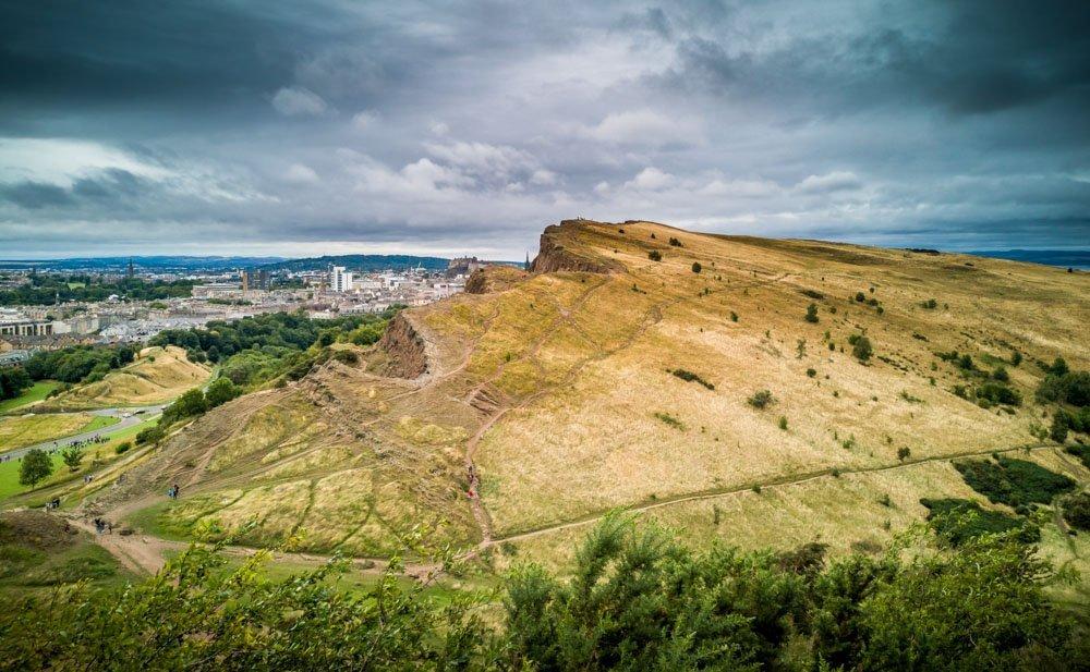 Hills above Edinburgh