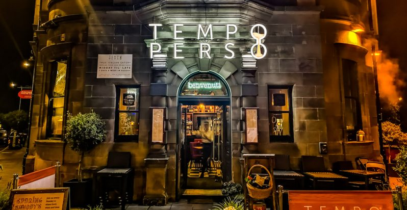 Tempo Perso, Edinburgh - Where Italy Meets Scotland