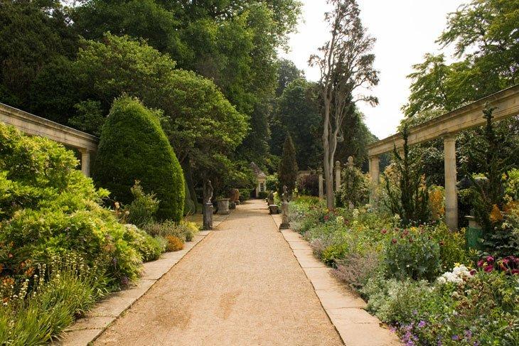 Wiltshire - Iford Manor garden path