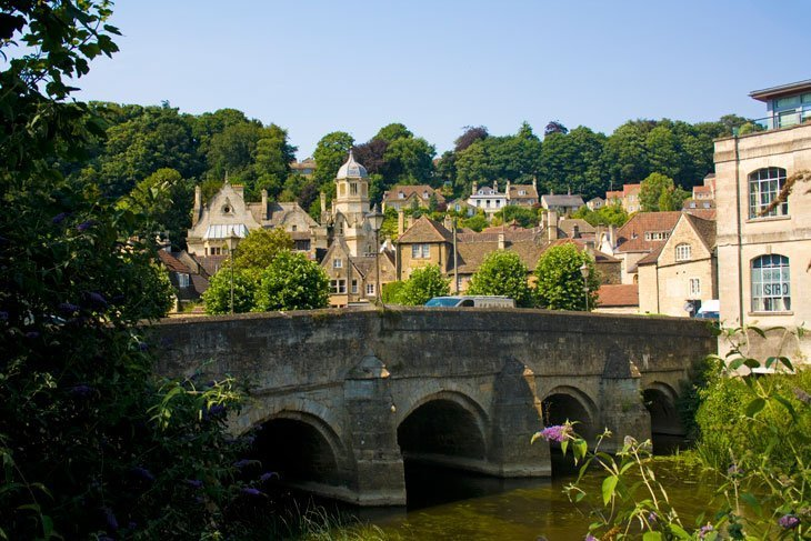 Wiltshire – Bradford-on-Avon, stroll through the ages