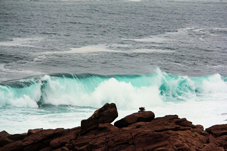 Canada - Cape Spear, Escape is only a wave away