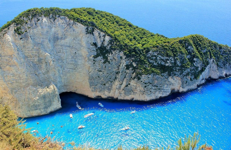 The Greek Island of Zakynthos