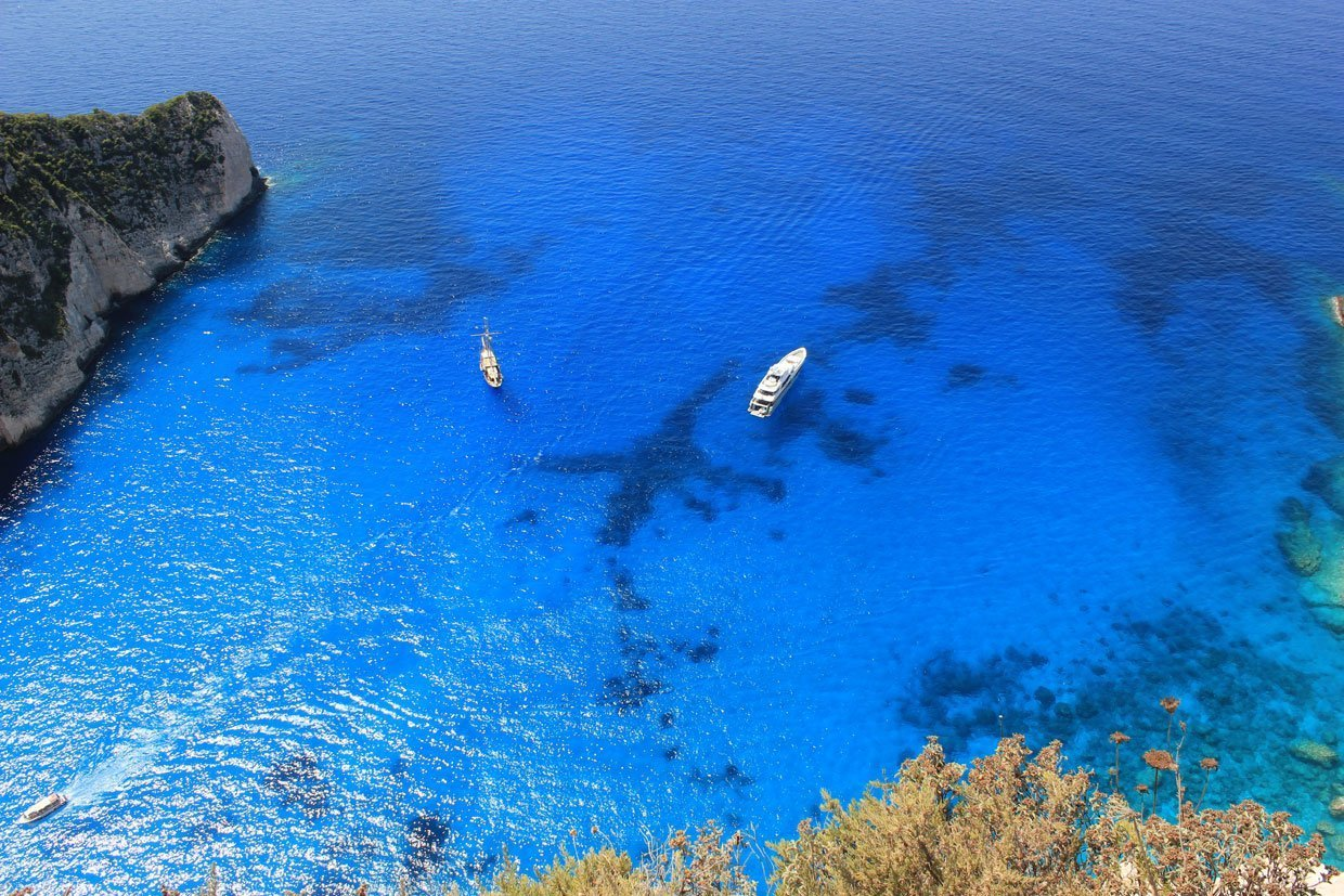 The Greek Island of Zakynthos