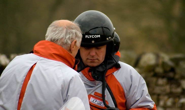 A Gyrocopter Flight Over The English Lake District