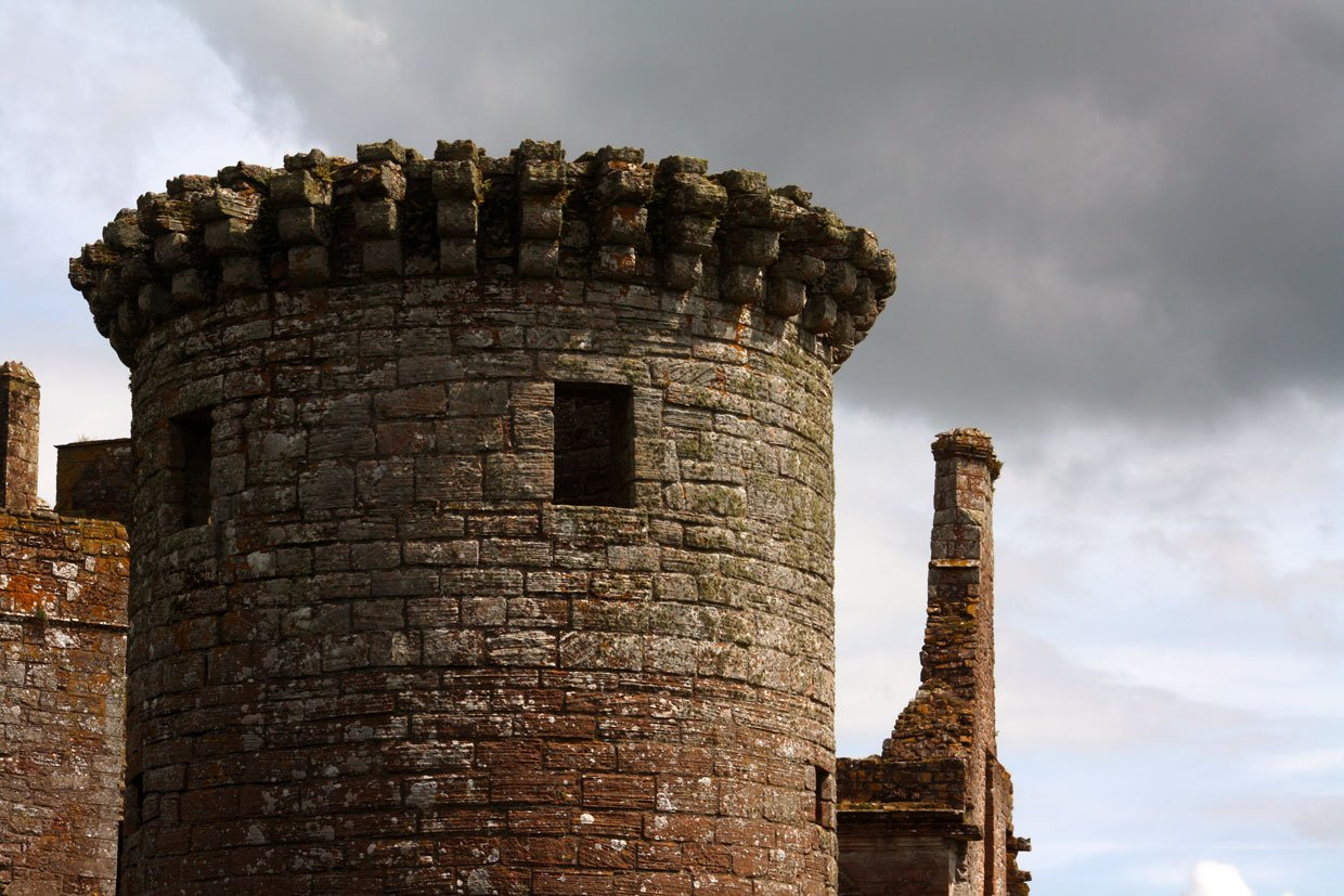 IMG_47501 Caerlaverock Castle – Scotland's fascinating medieval fortress