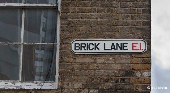 London – a walk down Brick Lane 1