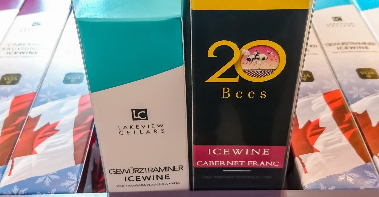 Icewine-Selection Ice Wine Tasting – Lakeview Wine Co,  Niagara-on-the-lake, Canada