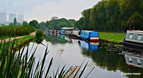 Derbyshire to Nottinghamshire, A Tranquil Canal and Riverside Walk 1