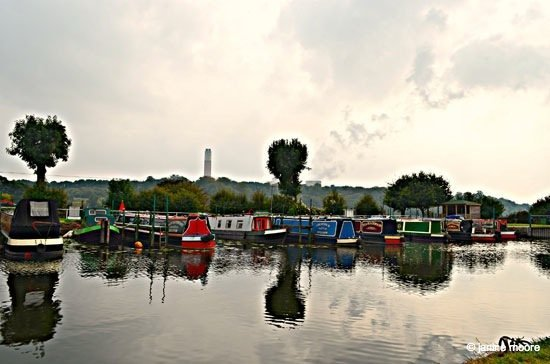Image-9.-Cranfleet-lock-Moorings Derbyshire to Nottinghamshire, A Tranquil Canal and Riverside Walk
