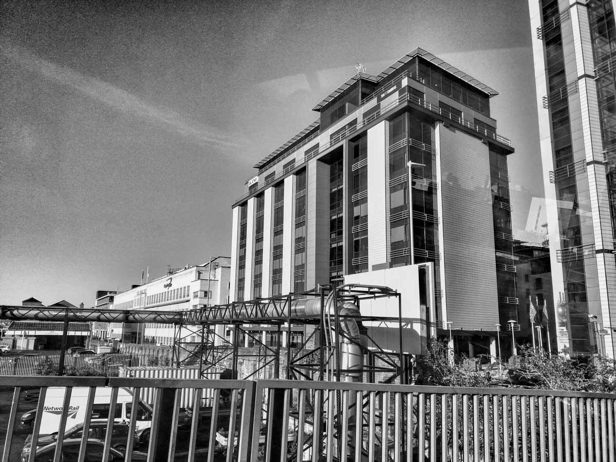 Industrial-and-Hotel-Black-and-White A Nottingham Wander – Vibrant and Always an Adventure