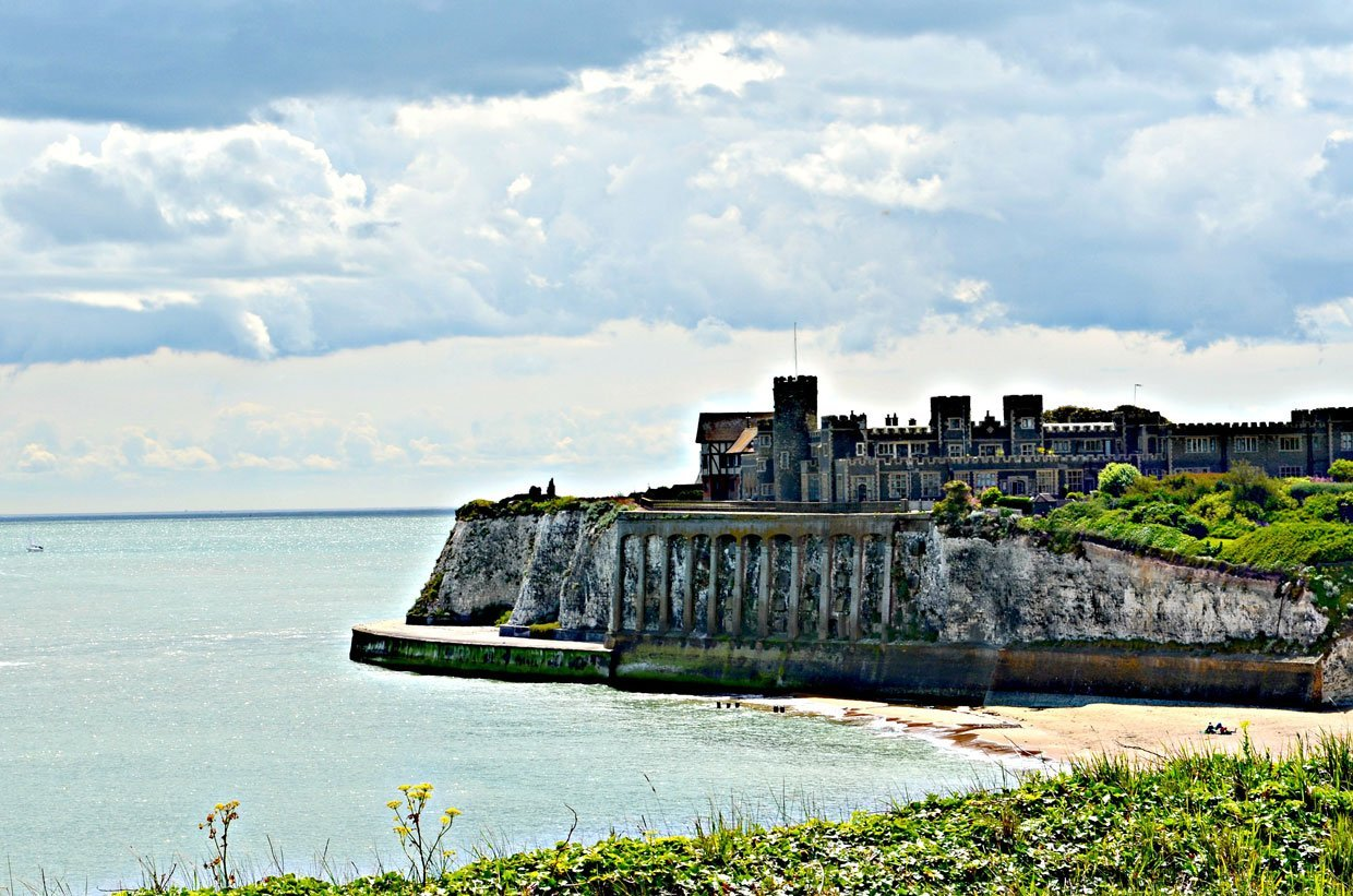 Kingsgate-Castle- A Stroll around Botany Bay & Tales of Smugglers in Kent