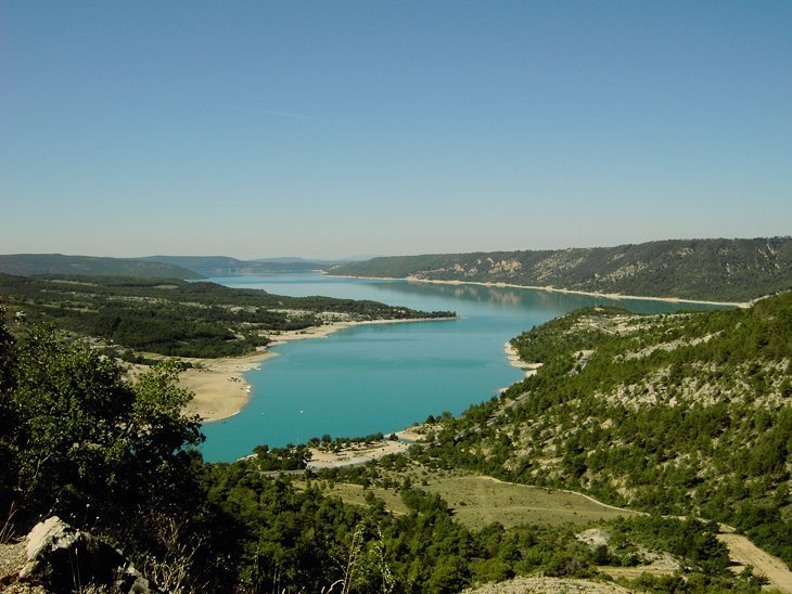 Enjoying the beautiful Gorges du Verdon in the Provence