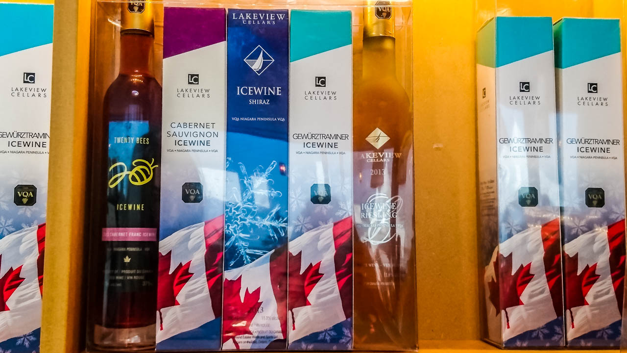 Lakeview-Cellars Ice Wine Tasting – Lakeview Wine Co,  Niagara-on-the-lake, Canada