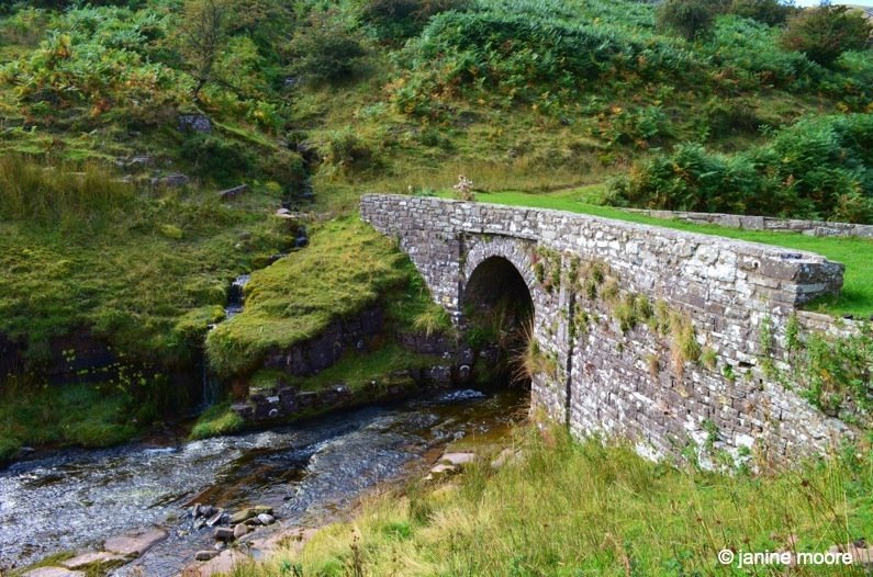 Little-bridge-over-the-stream-wales The Legend of the Welsh Black Mountains