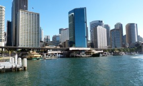 Looking-back-at-Circular-Quay- Sydney