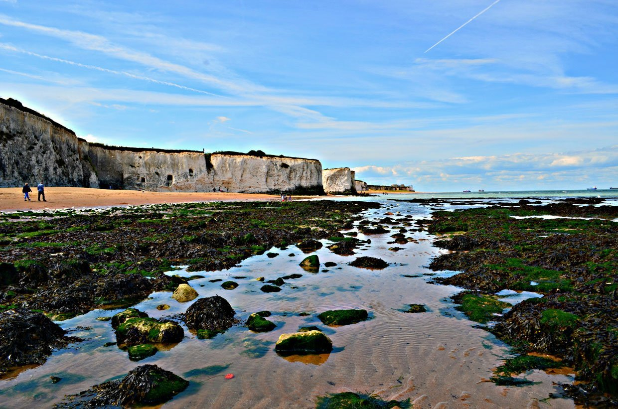 Low-tide A Stroll around Botany Bay & Tales of Smugglers in Kent