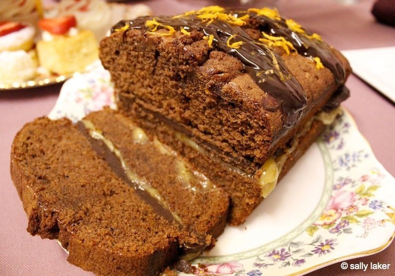 MG_0309 Chocolate and Orange Loaf Cake