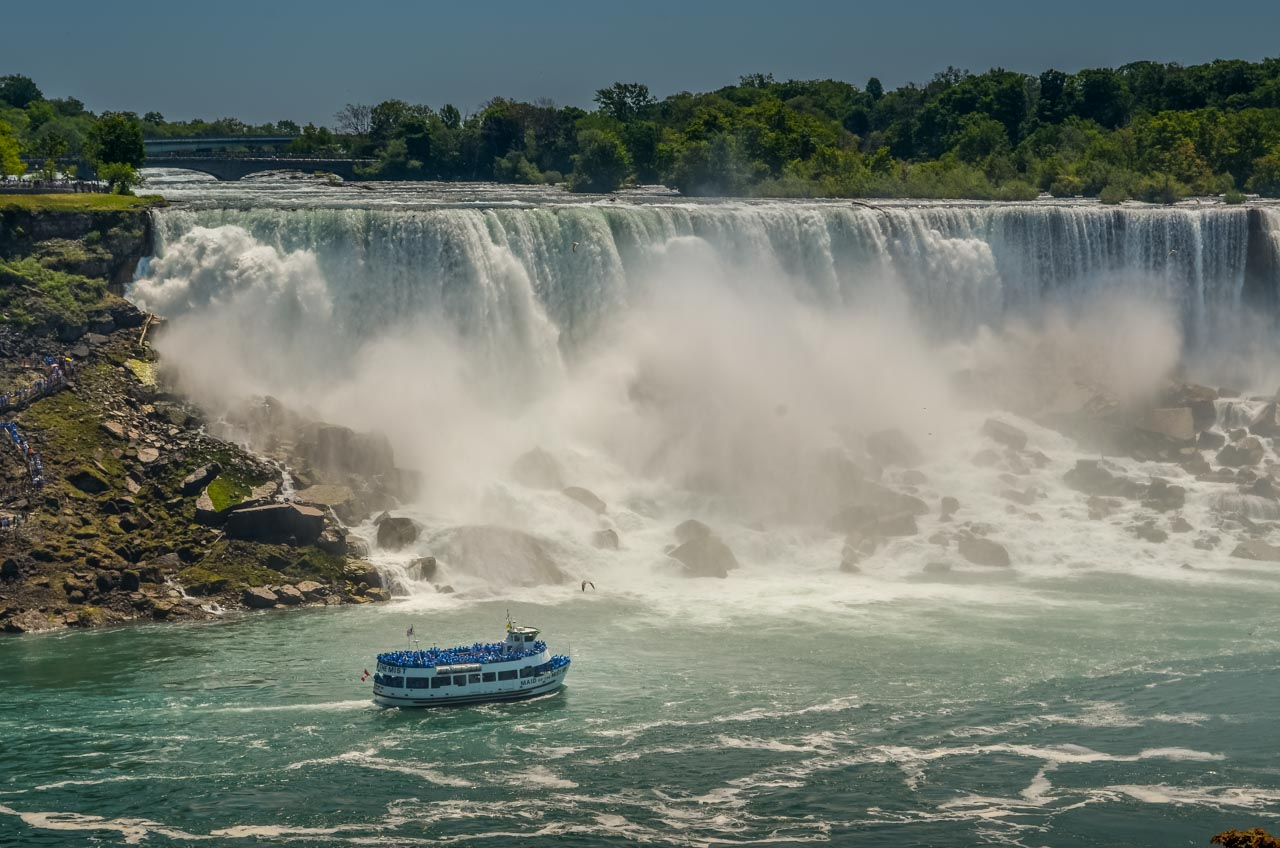 Maid-of-the-Mist-at-American-Falls_ Niagara Falls, an Experience with Memories to Treasure