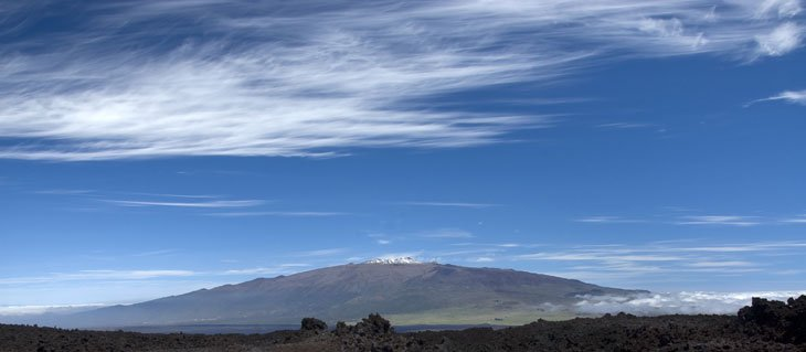 The Largest Mountain - Mauna Loa