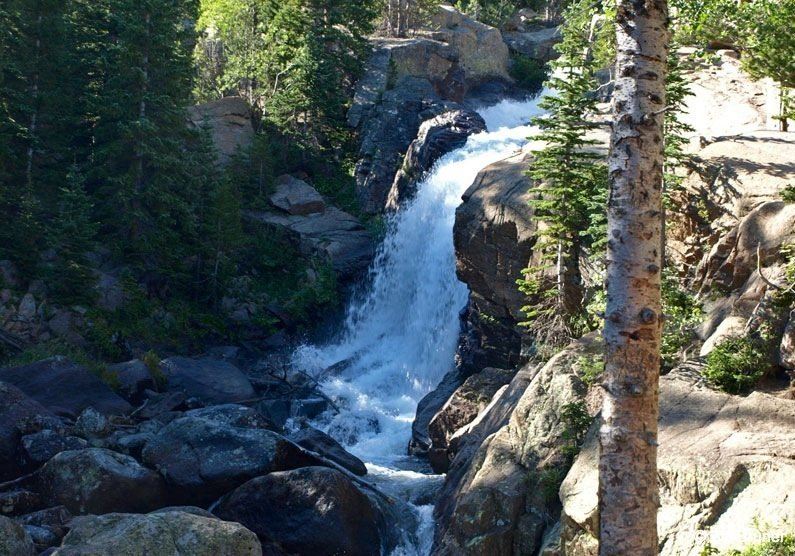 Mills Lake Trail - Rocky Mountain National Park