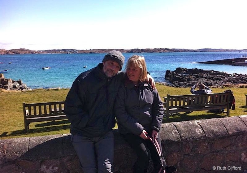 Mum and Dad on Mull RuthPost It's the people not the place