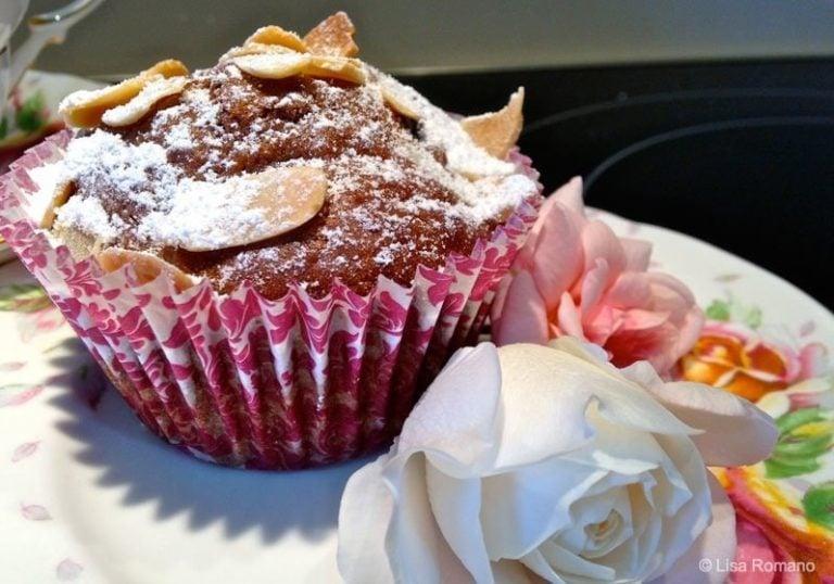 Cocoa and Blueberry Soda Bread Muffins