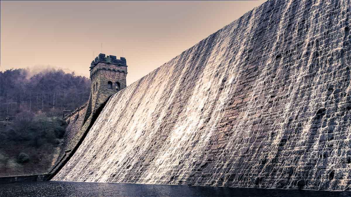 A Derwent Dam Circular Walk