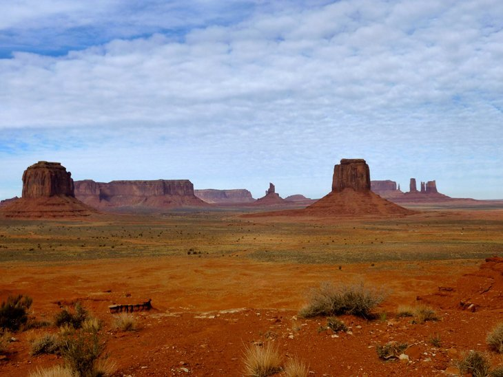 Monument Valley Or Just Beauty Created By Nature