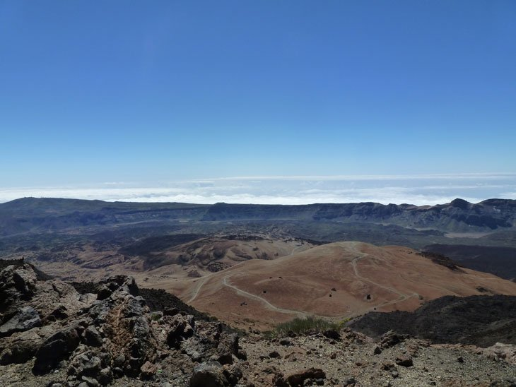 Tenerife - El Teide, Climbing To The Top of Spain