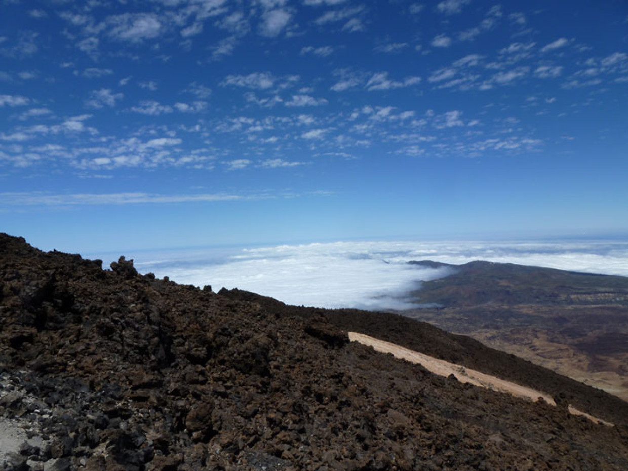 Tenerife – El Teide, Climbing To The Top of Spain