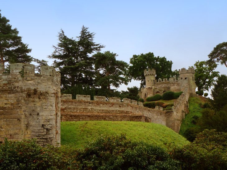 Warwick Castle – Romantic, Historic, Interactive