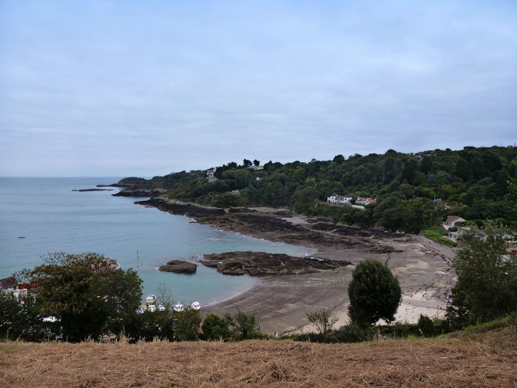 Jersey's Rozel Bay and Château La Chaire