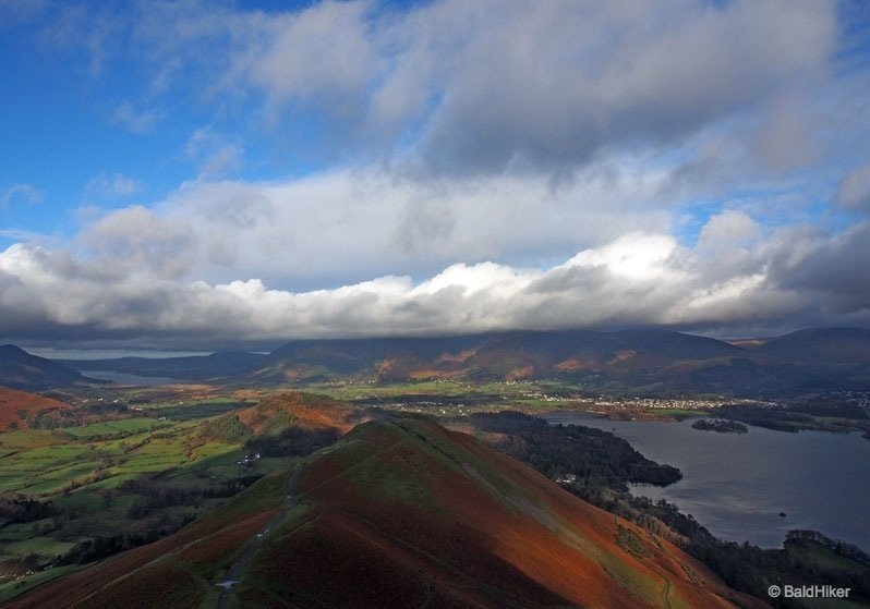 P1110137 catbells A walk up Catbells   a favourite of many