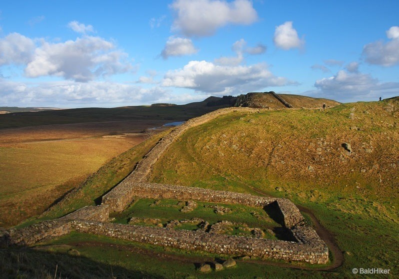 Hadrian's Wall – Steel Rigg to Housesteads