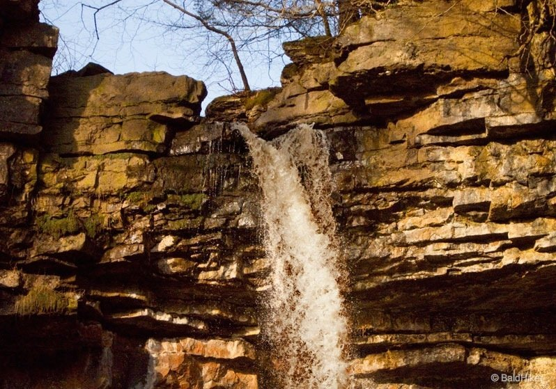 Hardraw Force – England's highest, unbroken, single drop waterfall