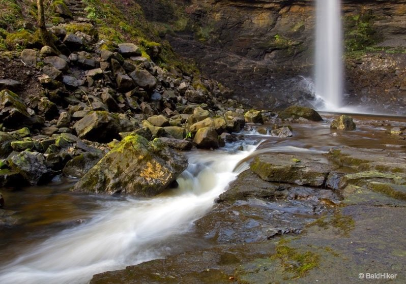 Hardraw Force - England's highest, unbroken, single drop waterfall