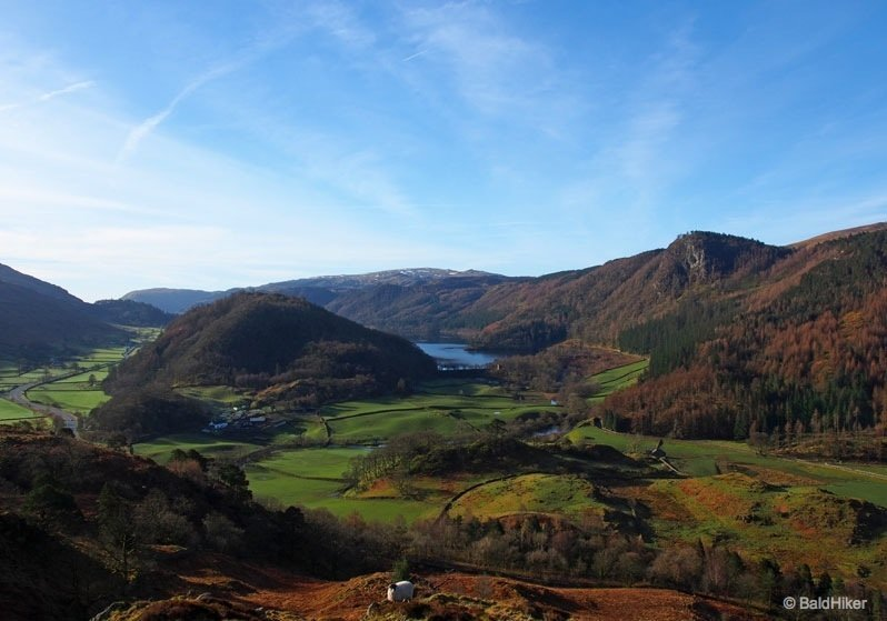 High Rigg from Legburthwaite: little climb, grand views
