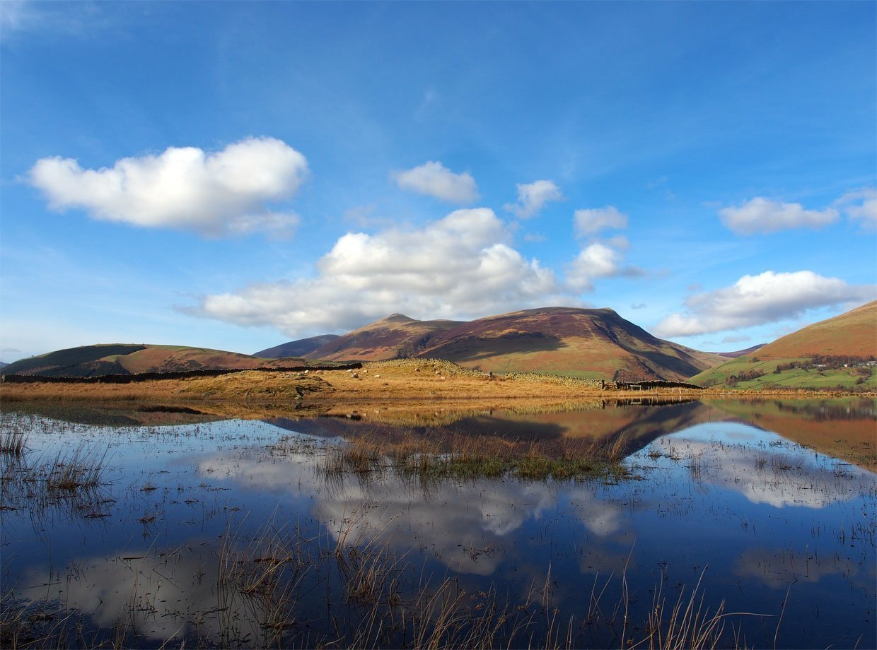 Tewet Tarn and St John's in the Vale