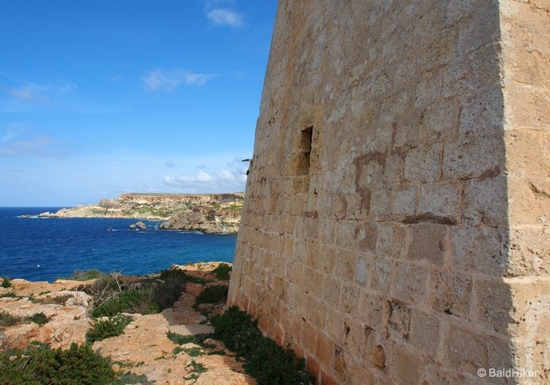 The coastal towers of Malta