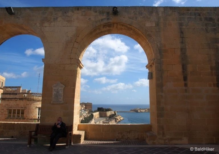 Malta – The Upper Barrakka Gardens of Valletta
