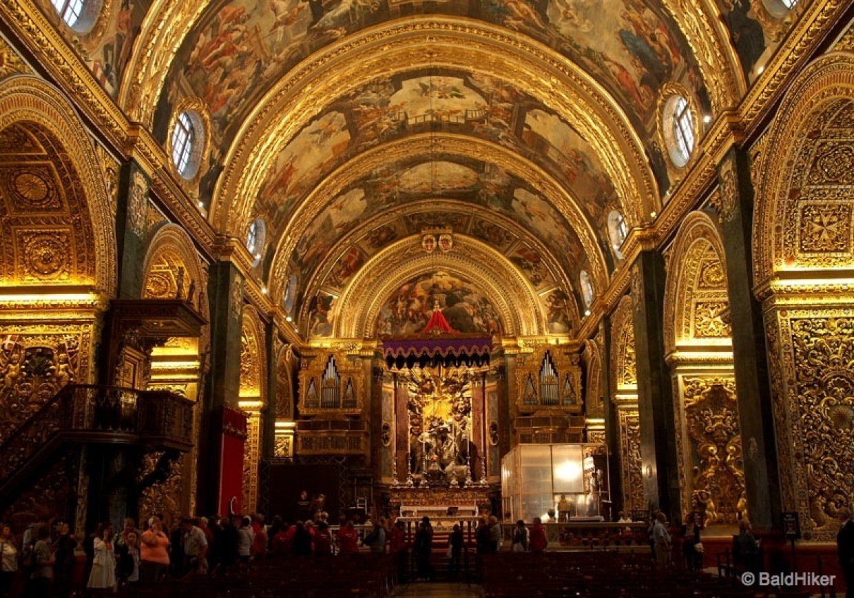Malta – The awe-inspiring St John's Co-Cathedral