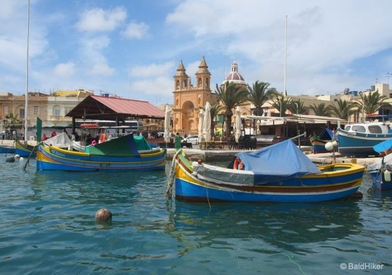 Malta – Marsaxlokk, the colourful fishing village