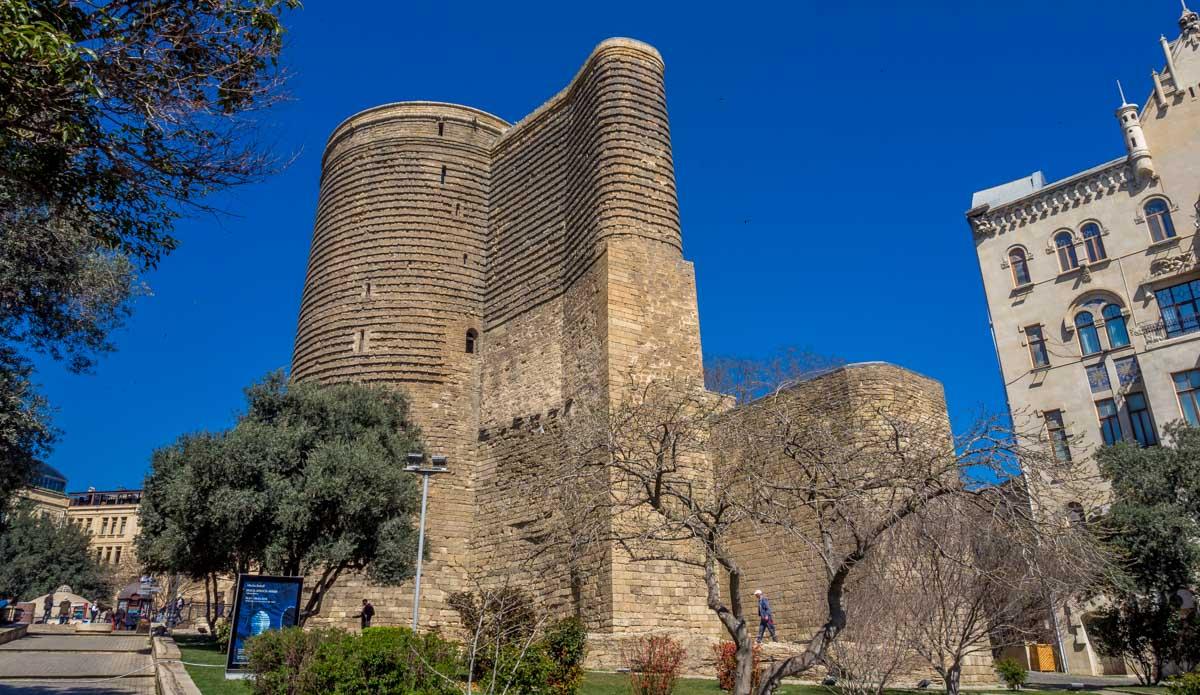 Azerbaijan - The Maiden Tower, Baku