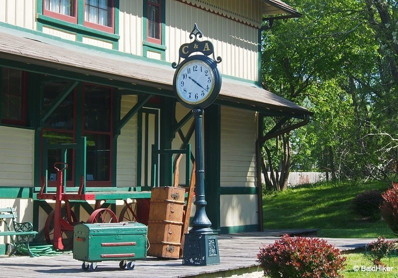 Independence: Chicago and Alton Railroad Depot