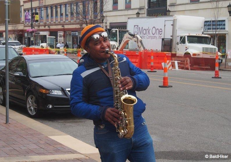 street musician of Kansas City