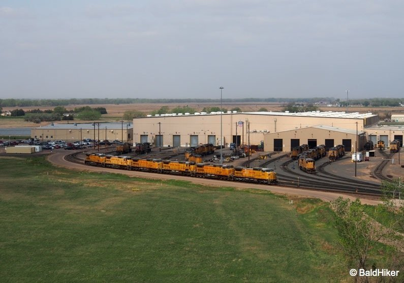 Nebraska: Bailey Yard, The world's largest rail yard