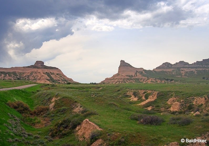 P5180592B Nebraska: Scotts Bluff National Monument