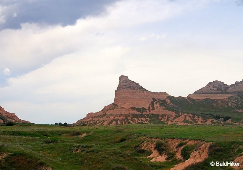 P5180616B Nebraska: Scotts Bluff National Monument